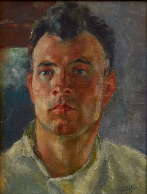 Баки Урманче. Автопортрет. 1934 г.